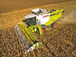 Аренда комбайнов Lexion 670 для збора урожая кукурузы, сои,