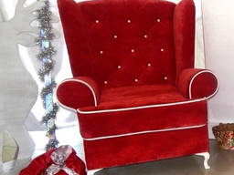 Аренда кресла для деда Мороза, прокат трона для Деда Мороза