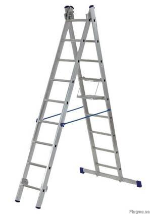 Аренда лестницы трехсекционной 3×11 в Днепропетровске