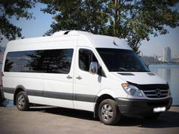 Аренда микроавтобуса, маршрутки или автобуса