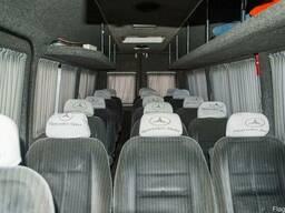 Аренда микроавтобуса Mercedes на 17 мест