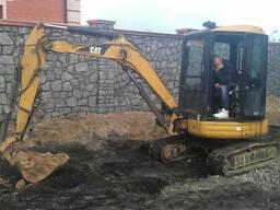 Аренда мини экскаватора Киев услуги мини экскаватора Киев