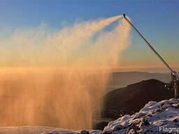 Аренда оборудования для производства искусственного снега.