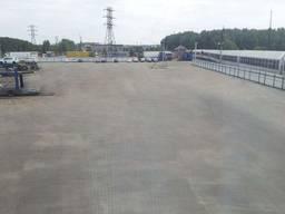 Аренда площадки с подьездными ж/д путями Синельниково,20 ваг