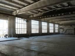 Аренда помещения 800 м. кв. с кран-балками