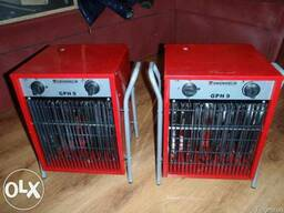 Аренда, прокат электрического обогревателя в Полтаве 9 кВ