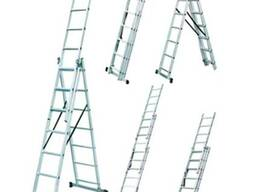 Аренда, прокат лестниц (стремянок) универсальных трёхсекцион
