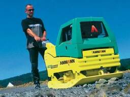 Аренда реверсивной виброплиты Ammann AVH 100-20 вес 720 кг