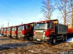 Аренда самосвалов 30 тонн Skania