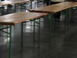 Аренда столов и лавок, лавки и столы в аренду. Продажа