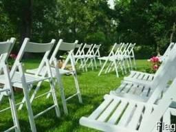 Аренда стульев для выездной церемонии