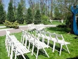 Аренда свадебных стульев