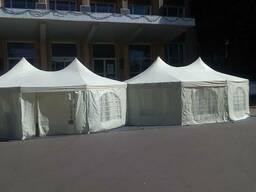 Аренда тентов шатров палаток