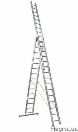 Аренда трехсекционной лестницы 5-12м