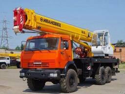Аренда, Услуги Автокрана от 10 до 25 тонн. Стрела до 21 метр