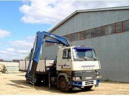 Аренда ( услуги ) грузовика с манипулятором