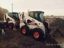 Аренда (услуги ) мини-погрузчика Bobcat, земляные работы