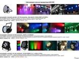 Аренда во Львове - Светодиодные прожекторы LED PAR, прокат - фото 1