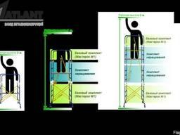 Аренда вышки строительной (прокат) подмости (Мастерок) 40грн