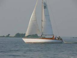 Мастер-класс управления яхтой 12 м. Практические занятия .