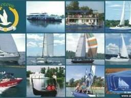 Аренда яхты, катера и теплохода в г. Днепр (Днепропетровск)