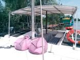 Аренда яхты в Днепре | Яхта-катамаран для 17-ти гостей - фото 3