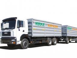 Аренда зерновоза КрАЗ 6511С4