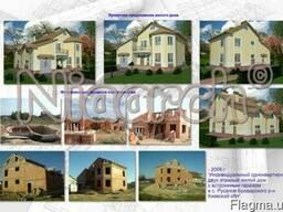Архитектурное проектирование частных домов и коттеджей