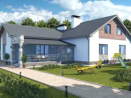 Архітектурний проект котеджу, будинку в Чернігові