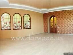 Арки деревянные, двери арочные