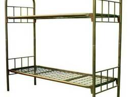 Армейская кровать двухъярусная металлическая ГОСТ