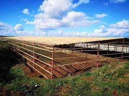 Ангар навес склад зерноток хранилище армянка