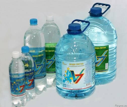 Артезианская вода, газ/не газ от 0,5л-19л