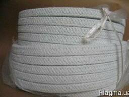Асбестовый квадратный плетёный шнур (для котлов)