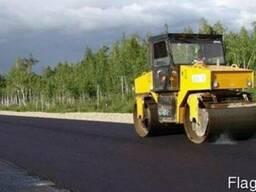 Асфальтирование дорог, строительство и ремонт дорог, укладка