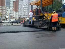 Асфальтирование и ремонт дорожного покрытия. асфальт крошка