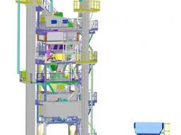 Асфальтосмесительная установка КДМ207