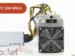 Asic Bitmain Antminer L3 504 MH/s БП Bitmain 1600 Вт Асик