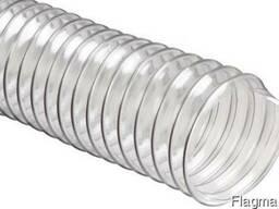 Аспирационный трубопровод гофрированный ПВХ 80*0,7мм