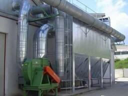 Аспирационные системы для очистки воздуха от пыли и газов