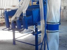 Аспірація для очищення грецького горіха