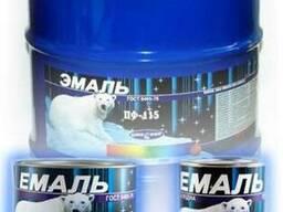 Атмосферостойкая Эмаль ПФ-115 0, 9/2, 5/50кг по ГОСТ 6465-76