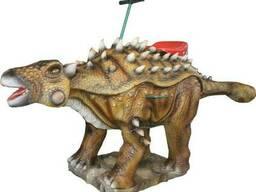Аттракцион качалка Анкилозавр