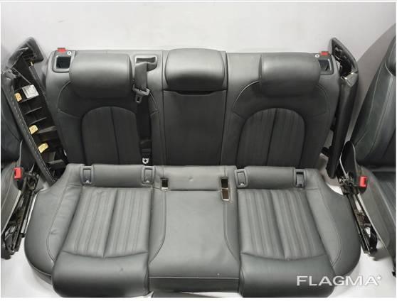AUDI A6 C7 S-LINE кресла передние, задние, карты дверей.