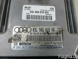 Audi Q5 03L906018MQ 0281017838 Компьютер блок управления ЭБУ