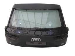 Audi q7 4m крышка багажника задняя зад стекло ly9b