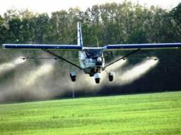 Авиахимическая обработка пшеницы гербицидами агроавиацией