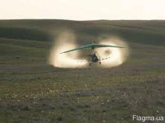 Авиаобработка полей Украины