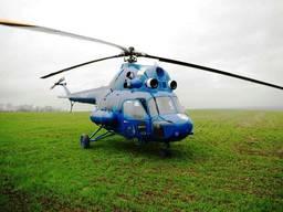Авиарассев аммиачной селитры - агроуслуги самолет вертолет
