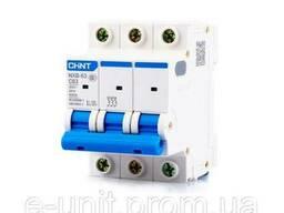 Автоматический выключатель, электрический автомат NXB-63 3P В4 6kA, 814193